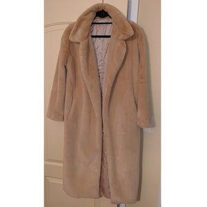 Jackets & Blazers - 🐻Longline Faux Fur Teddy Coat